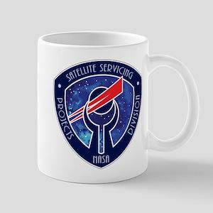 Sat Servicing Logo Mug Mugs