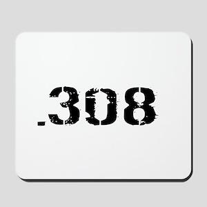 Ammunition: .308 (White) Mousepad