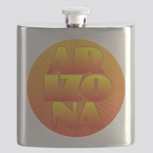 Arizona - Sun Design Flask