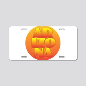 Arizona - Sun Design Aluminum License Plate
