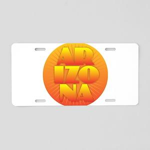 Arizona - Sun Design Aluminum License Plate