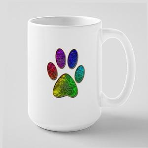 Rainbow Pride Paw Mugs
