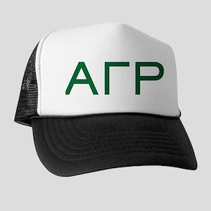 Alpha Gamma Rho Letters Trucker Hat