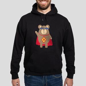 Flying Hero Bear Sweatshirt