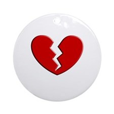Broken Heart | Ornament (Round)