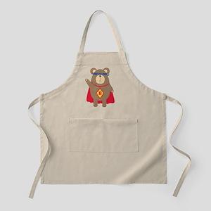 Flying Hero Bear Apron