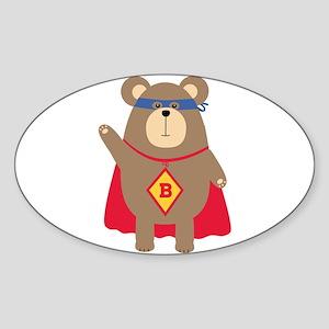 Flying Hero Bear Sticker
