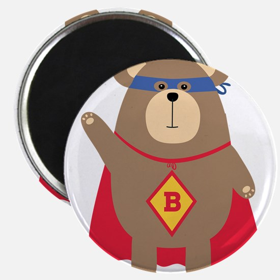 Flying Hero Bear Magnets
