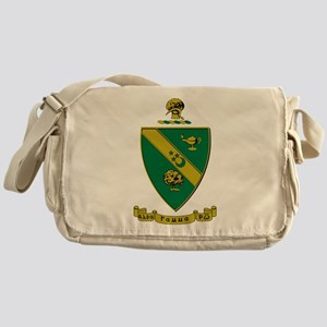 Alpha Gamma Rho Emblem Messenger Bag