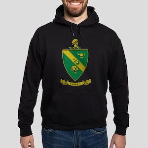 Alpha Gamma Rho Emblem Hoodie (dark)