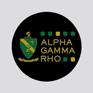 Alpha Gamma Rho Button