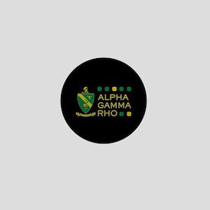 Alpha Gamma Rho Mini Button
