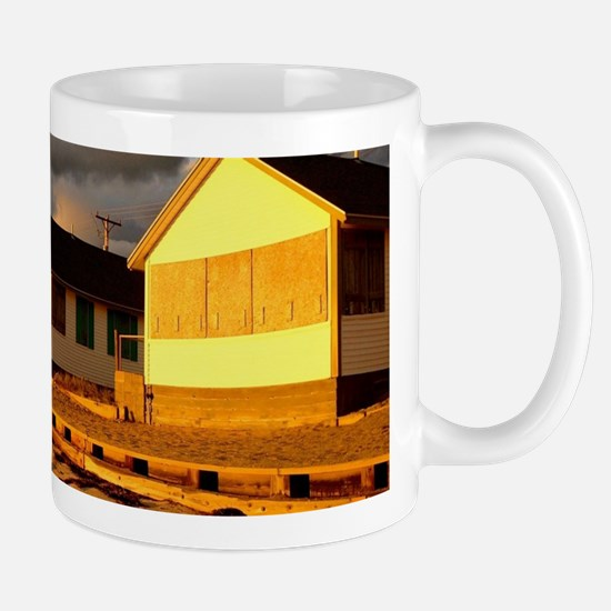 Days Cottages at Sunset 1 Mugs