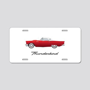 1957 Thunderbird Aluminum License Plate