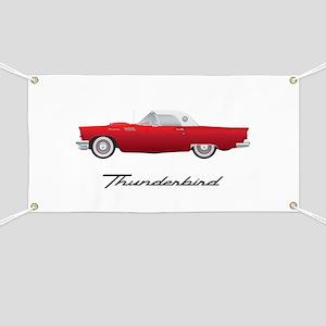 1957 Thunderbird Banner