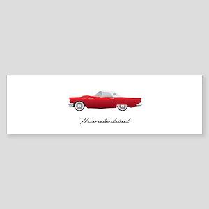 1957 Thunderbird Bumper Sticker