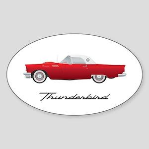 1957 Thunderbird Sticker