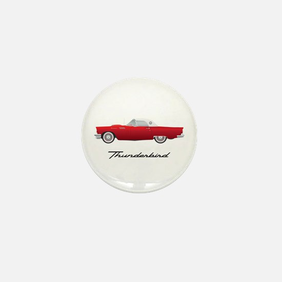 1957 Thunderbird Mini Button