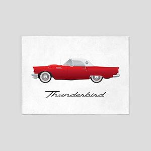 1957 Thunderbird 5'x7'Area Rug