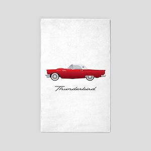 1957 Thunderbird Area Rug