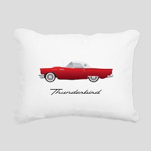 1957 Thunderbird Rectangular Canvas Pillow
