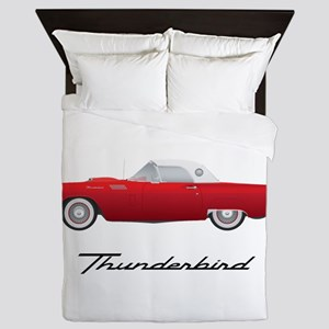1957 Thunderbird Queen Duvet