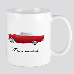 1957 Thunderbird Mugs