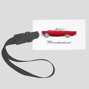 1957 Thunderbird Luggage Tag