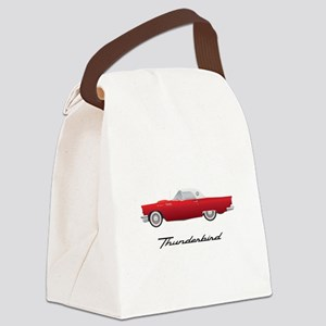 1957 Thunderbird Canvas Lunch Bag