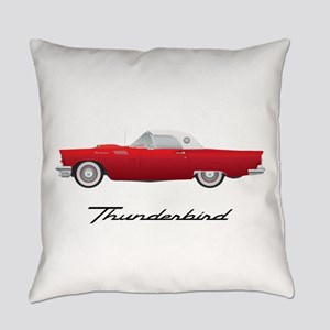 1957 Thunderbird Everyday Pillow