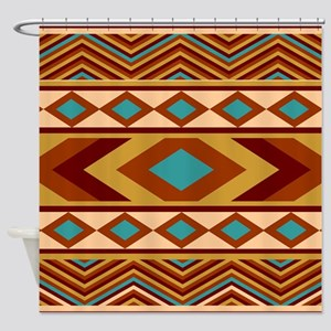 Southwestern Navajo Shower Curtain
