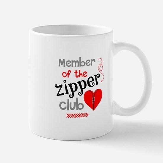 Member of the Zipper Club Mugs