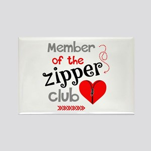 Member of the Zipper Club Magnets