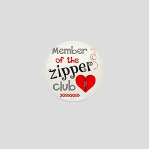 Member of the Zipper Club Mini Button