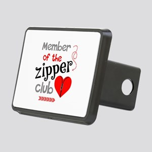 Member of the Zipper Club Rectangular Hitch Cover