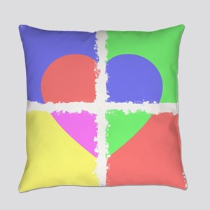 Hear (Frames) (Vivid) Everyday Pillow