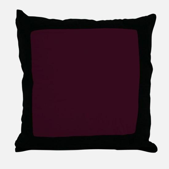 Cute Plum Throw Pillow