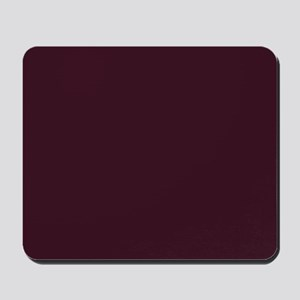 wine red burgundy plum Mousepad