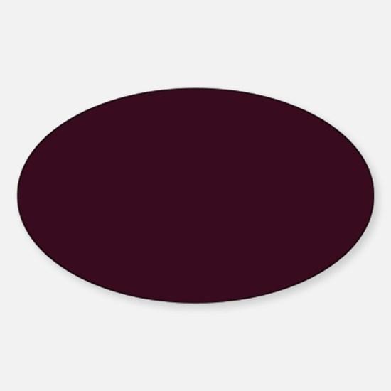 wine red burgundy plum Decal