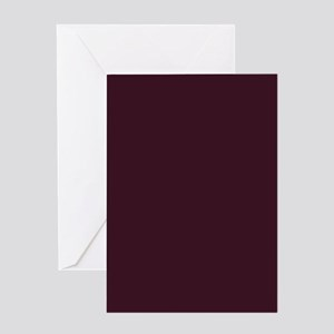 wine red burgundy plum Greeting Cards