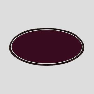 wine red burgundy plum Patch