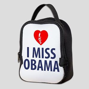 I Miss Obama Neoprene Lunch Bag