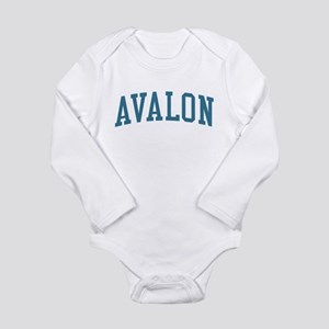 Avalon New Jersey NJ Blue Body Suit