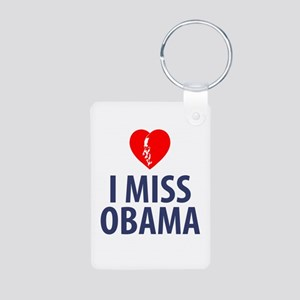 I Miss Obama Keychains