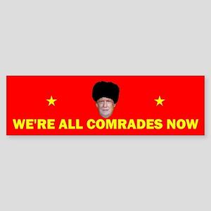Comrade Trump (bumper) Bumper Sticker