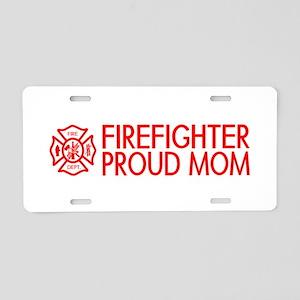 Firefighter: Proud Mom (Florian Cross) Aluminum Li