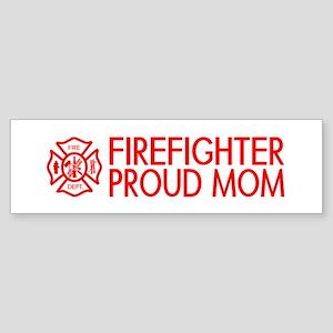Firefighter: Proud Mom (Florian Cross) Bumper Stic