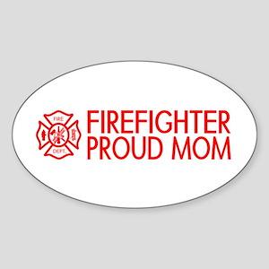 Firefighter: Proud Mom (Florian Cross) Sticker