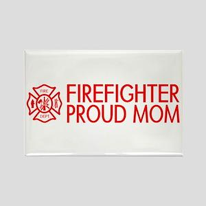 Firefighter: Proud Mom (Florian Cross) Magnets