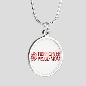 Firefighter: Proud Mom (Florian Cross) Necklaces